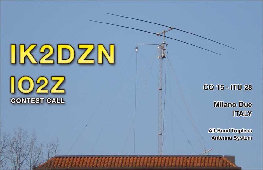 IK2DZN - QSL 2011-2012